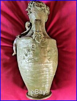 Vase Bronze Rare Hans Stoltenberg Lerche 1900 Art Nouveau