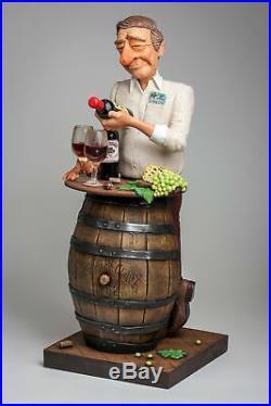 Vin Lover Guillermo Forchino Sculpture Numérotée Comic Art FO85547 Buveurs de